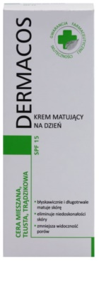 Ideepharm Dermacos Combination Oily Acne Skin mattierende Tagescreme SPF 15 2