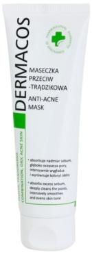 Ideepharm Dermacos Combination Oily Acne Skin masca pentru tenul gras, predispus la acnee