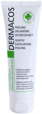 Ideepharm Dermacos Combination Oily Acne Skin delikatny peeling oczyszczający