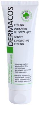 Ideepharm Dermacos Combination Oily Acne Skin делікатний очищуючий пілінг