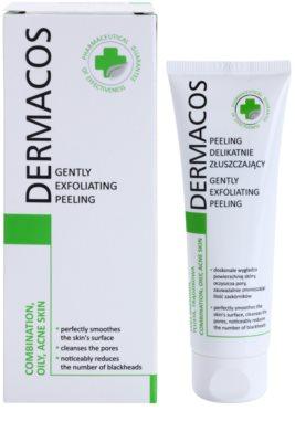 Ideepharm Dermacos Combination Oily Acne Skin delikatny peeling oczyszczający 1