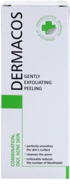 Ideepharm Dermacos Combination Oily Acne Skin delikatny peeling oczyszczający 2