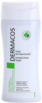 Ideepharm Dermacos Combination Oily Acne Skin tónico antibacteriano para pele oleosa e problemática