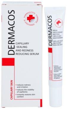 Ideepharm Dermacos Capillary sérum fortificante para a pele sensível com tendência a aparecer com vermelhidão 1