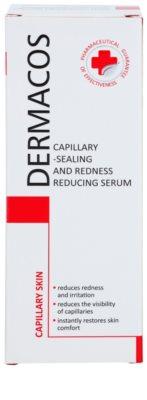 Ideepharm Dermacos Capillary sérum fortificante para a pele sensível com tendência a aparecer com vermelhidão 2