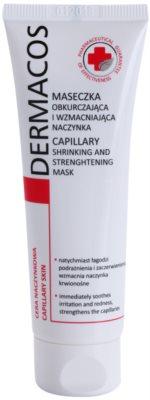 Ideepharm Dermacos Capillary máscara fortificante para pequenos derrames no rosto