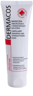 Ideepharm Dermacos Capillary posilující maska na rozšířené a popraskané žilky