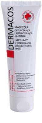 Ideepharm Dermacos Capillary stärkende Maske für geweitete und geplatzte Venen