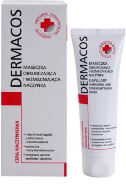Ideepharm Dermacos Capillary maska za okrepitev las za razpokane in razširjene žilice 1