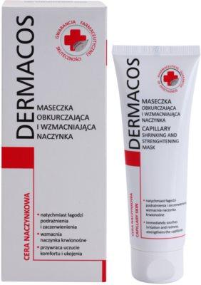 Ideepharm Dermacos Capillary masca fortifianta impotriva rosetii si a vizibilitatii venelor 1