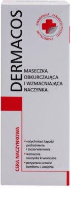 Ideepharm Dermacos Capillary posilující maska na rozšířené a popraskané žilky 2