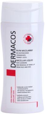 Ideepharm Dermacos Capillary agua micelar limpiadora para rostro y ojos