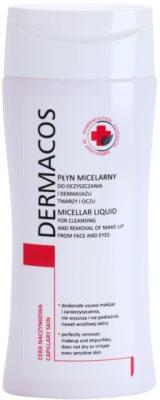 Ideepharm Dermacos Capillary Mizellar-Reinigungswasser für Gesicht und Augen