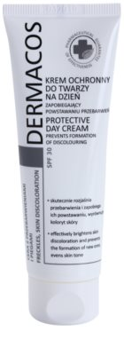 Ideepharm Dermacos Freckles Skin Discoloration дневен предпазващ крем  SPF 30