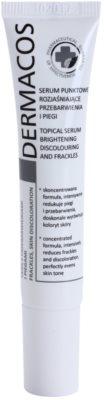 Ideepharm Dermacos Freckles Skin Discoloration rozjasňující sérum pro pleť s hyperpigmentací