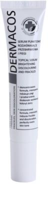 Ideepharm Dermacos Freckles Skin Discoloration ser cu efect iluminator pentru piele cu hiperpigmentare