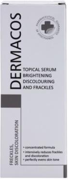 Ideepharm Dermacos Freckles Skin Discoloration ser cu efect iluminator pentru piele cu hiperpigmentare 2