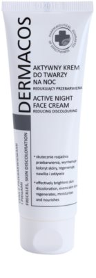 Ideepharm Dermacos Freckles Skin Discoloration élénkítő éjszakai krém a hiperpigmentációs bőrre
