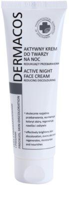 Ideepharm Dermacos Freckles Skin Discoloration nočna krema za posvetlitev kože za kožo s hiperpigmentacijo