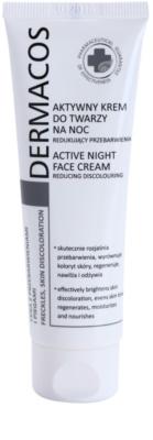 Ideepharm Dermacos Freckles Skin Discoloration zesvětlující noční krém pro pleť s hyperpigmentací