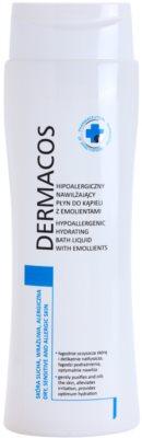 Ideepharm Dermacos Dry Sensitive Allergic Skin hypoalergenní hydratační pěna do koupele pro jemnou a hladkou pokožku