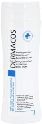 Ideepharm Dermacos Dry Sensitive Allergic Skin зволожуючий бальзам для тіла