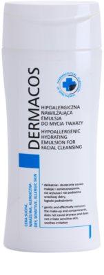 Ideepharm Dermacos Dry Sensitive Allergic Skin хипоалергенна почистваща емулсия с хидратиращ ефект