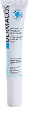 Ideepharm Dermacos Dry Sensitive Allergic Skin hipoalergena krema za predel okoli oči z vlažilnim učinkom