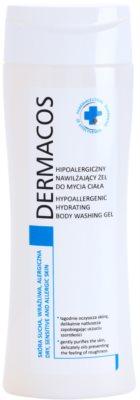 Ideepharm Dermacos Dry Sensitive Allergic Skin hypoallergenes Duschgel mit feuchtigkeitsspendender Wirkung