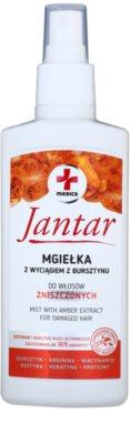 Ideepharm Medica Jantar spray pentru ingrijirea parului pentru par deteriorat