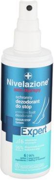 Ideepharm Nivelazione Expert deodorant revigorant pentru picioare 1