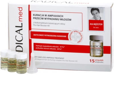 Ideepharm Radical Med Anti Hair Loss третиращ серум против косопад за мъже