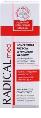 Ideepharm Radical Med Anti Hair Loss koncentrátum hajhullás ellen 2