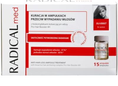 Ideepharm Radical Med Anti Hair Loss serum naprawcze przeciw wypadaniu włosów dla kobiet 2