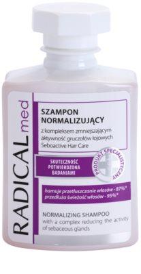 Ideepharm Radical Med Normalize sampon zsíros hajra és fejbőrre