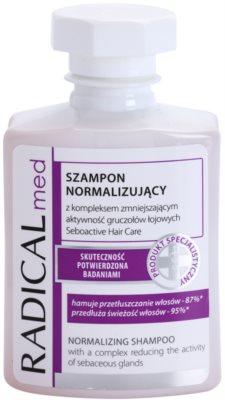 Ideepharm Radical Med Normalize шампунь для жирного волосся та шкіри голови