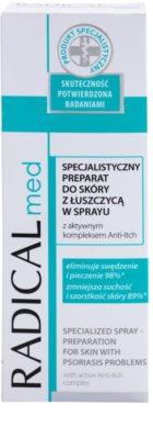 Ideepharm Radical Med Psoriasis profesionální zklidňující péče pro pleť a pokožku s lupénkou 2