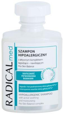 Ideepharm Radical Med Psoriasis champô hipoalergénico para couto cabeludo com psoríase