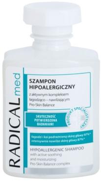 Ideepharm Radical Med Psoriasis hipoalergeni šampon za lasišče z luskavico