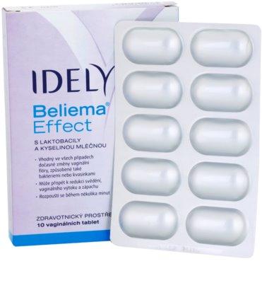 Idelyn Beliema Effect vaginální tablety pro obnovu a udržení fyziologického pH 1