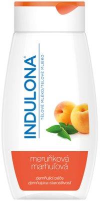 Indulona Apricot leite corporal suavizante com óleo de alperce
