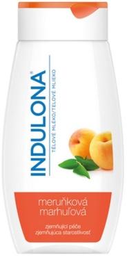 Indulona Apricot zjemňujúce telové mlieko s marhuľovým olejom