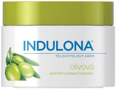 Indulona Olive hydratisierende Körpercreme mit  Olivenöl