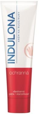 Indulona Protection crema de manos protectora con ingrediente antibacteriano