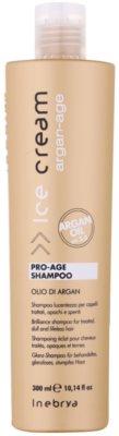 Inebrya Argan-Age szampon arganowy do nabłyszczenia
