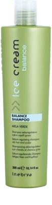 Inebrya Ice Cream Balance шампунь для регуляції секреції шкірних залоз