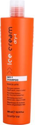 Inebrya Ice Cream Dry-T Shampoo mit ernährender Wirkung für trockenes und beschädigtes Haar