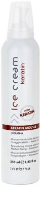 Inebrya Keratin Haarschaum mit Keratin