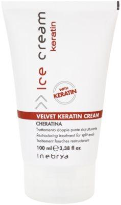 Inebrya Keratin krema za prestrukturiranje las za razcepljene konice