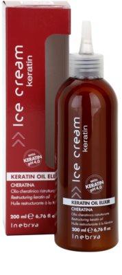 Inebrya Keratin ulei restructurant cu keratina 2